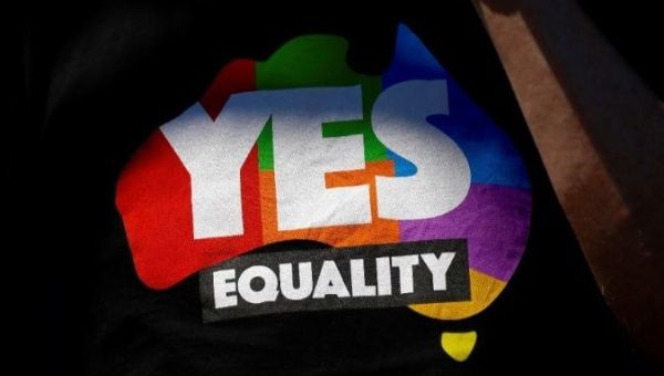 Australia joins the more than 20 other nations which allow same-sex weddings.