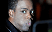 Chris Rock during a screening of Madagascar 2 in England.