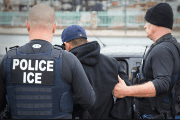 ICE-led arrests within the country rose by 40 percent in the first 100 days of Trump taking to the office, per government released numbers.