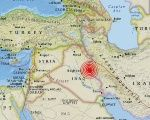 The tremor was felt in both Iraq and Iran but seems to have not caused any serious damage.