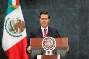 Mexican President Enrique Pena Nieto is