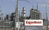 A view of the Exxon Mobil refinery in Baytown, Texas, 2008.