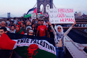 Palestinian Solidarity March in NYC.