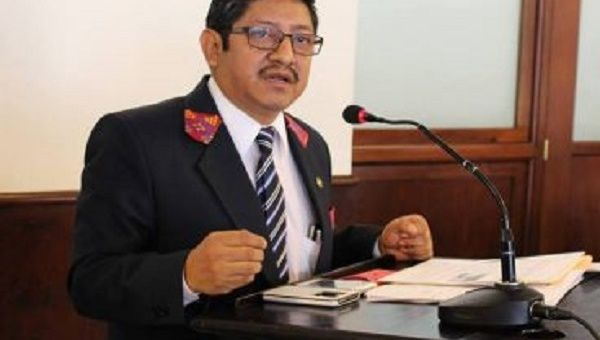 Leocadio Juracan is appealing against 90 mining exploration and exploitation licenses granted by the Guatemalan government without consulting Indigenous groups.
