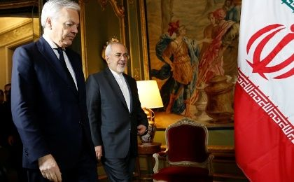 Belgian Foreign Minister Didier Reynders welcomes Iran