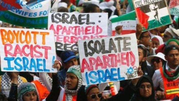 Protests against Isreal.