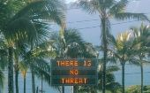 Information relating to the false ballistic missile emergency alert is displayed in Oahu, Hawaii.