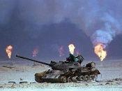 La Guerra del Golfo ocurrió entre 1990 y 1991 contra Irak.