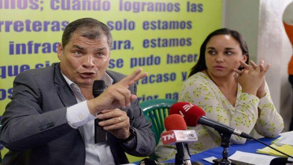 La decisión del expresidente ecuatoriano será respaldada por varios parlamentarios del partido.