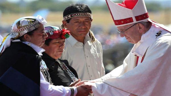 Representantes mapuches consideran que el discurso del papa Francisco ha sido muy general sin abordar problemáticas específicas.