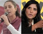 The two candidates: Claudia Sheinbaum (L), representing the National Regeneration Movement (Morena) will run against Alejandra Barrales (R), supported by the CDMX Coalition.