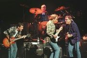 American rock group the Eagles, shown performing in 1998 in London, Britain.
