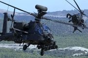 The Army's 4th Infantry Division's AH-64 Apache chopper was based in Fort Carson, Colorado.