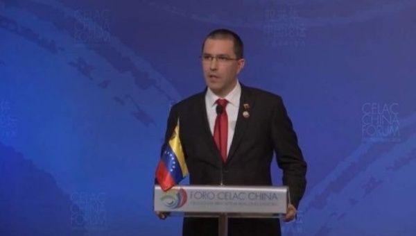 Arreaza regretted that the EU subordinates itself to the imperialist policy of the United States.