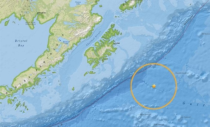 The earthquake's epicenter was located at the depth of 10 kilometers.
