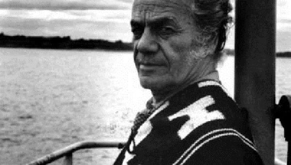 Artist and scientist Nicanor Parra.