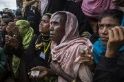 More than 688,000 Muslim Rohingya have fled to Bangladesh since Aug. 25, 2017 after the Myanmar military cracked down in the northern part of Rakhine state.
