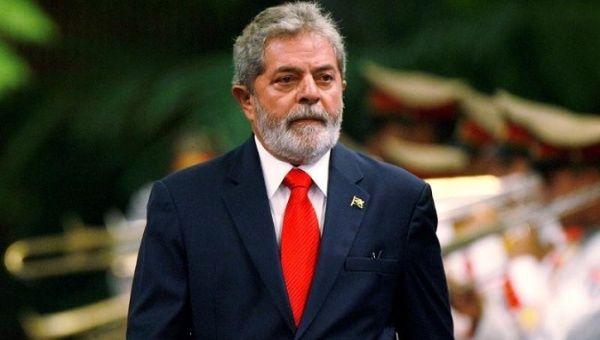 "Former Brazilian PresidentLuiz Inacio ""Lula"" da Silva."