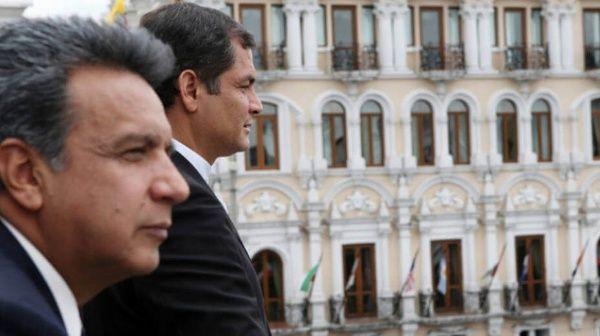 Moreno se ha desligado del expresidente Rafael Correa