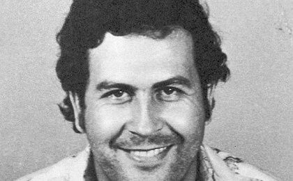 """King of Cocaine"" Pablo Escobar reportedly raked in US$30 billion during the early 1990s: the equivalent of about $56 billion today."