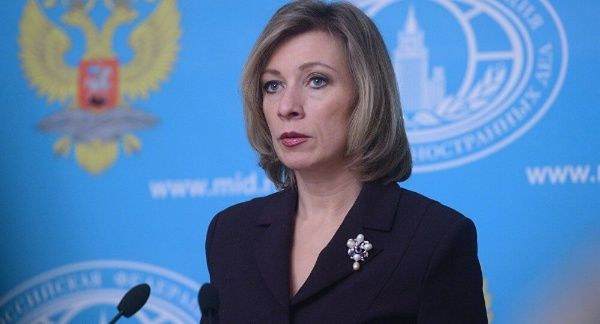María Zajárova condenó la política de EE.UU. hacia Siria