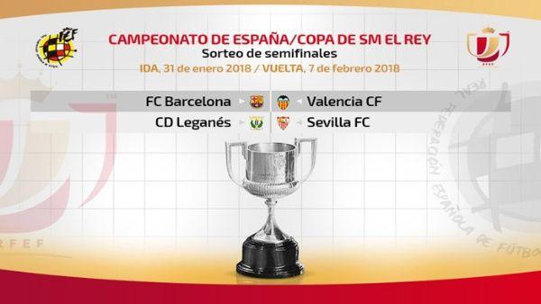 Barcelona enfrenta a Valencia en semifinales de la Copa del Rey ...