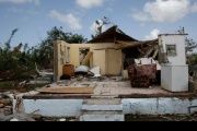 Ninety-five percent of Barbuda's structures were severely damaged by Hurricane Irma.