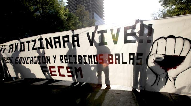 40 meses de impunidad, injusticia e incertidumbre para las 43 familias del Estado de Guerrero.