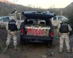 Security forces intercepted the vehicle about an hour and a half south of the Californian border.