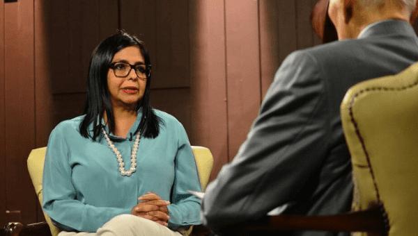 Venezuelan National Constituent Assembly President Delcy Rodriguez