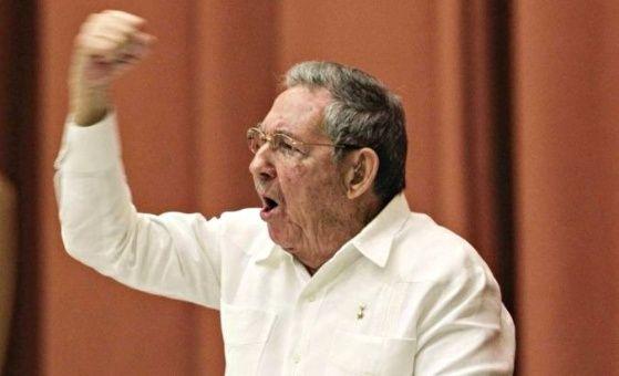 Cuban President Raul Castro.