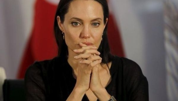 United Nations High Commissioner for Refugees Special Envoy Angelina Jolie