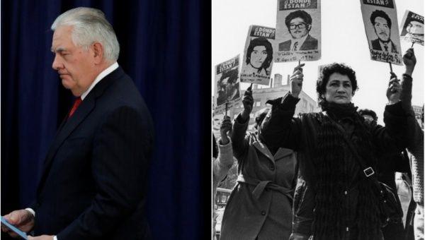 Tillerson InvokesPossibility of Pinochet-Style Coup in Venezuela