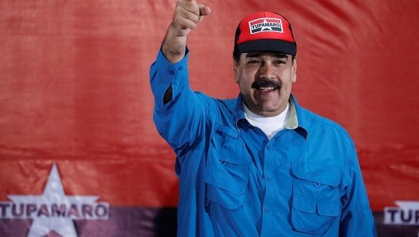 """I am ready to sign,"" said President Nicolas Maduro on Saturday. ""I want peace. I am willing to unite everyone; we face great challenges."""
