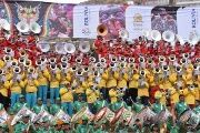 More than 6,000 musicians clad in red, yellow and green shirts in honor of the Bolivian flag wowed the crowds at the XVII Oruro Band Festival.