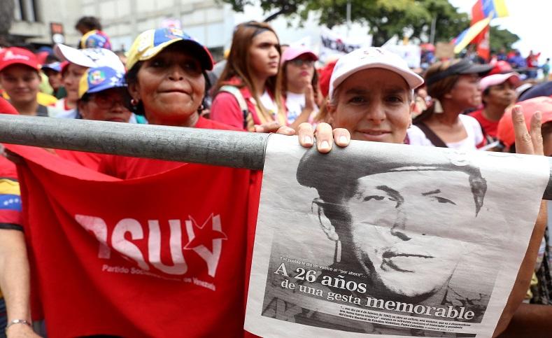 """""""Por ahora"""" se convirtió en la esperanza del pueblo, que luego en 1999 con la llegada de Chávez al poder cambió el rumbo del pueblo venezolano, con la dignificación de sus derechos por la Revolución Bolivariana y el socialismo."""