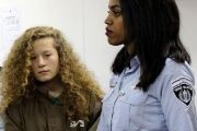 Seventeen-year-old Palestinian, Ahed Tamimi, was arrested late last year.