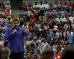 Venezuela's President Maduro speaks during an event with supporters of Somos Venezuela movement in Caracas, Venezuela Feb. 7, 2018.