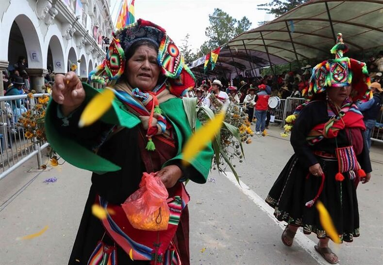 The Carnival of Oruro is one of the world's most important celebrations. It gathers thousands in a display of cultural syncretism between Andean and colonial tradition.