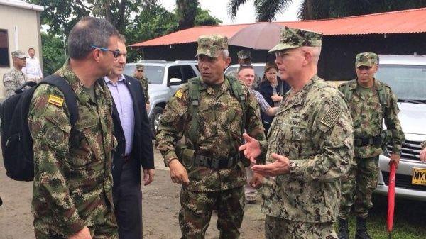 Fuerzas militares de EE.UU. visitan Tumaco, Colombia | Noticias ...