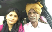 Krishna Kumari with her father, along with her family members, spent nearly three years in a private jail owned by a landlord.