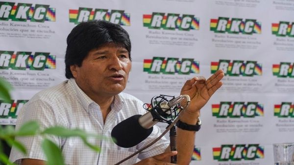 El mandatario boliviano rechazó la gira de Tillerson por Latinoamérica en busca de apoyo para intervenir a Venezuela.