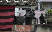 Brazilian Armed Forces in a favela in Rio.