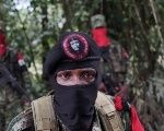 A commander of the National Liberation Army (ELN) in the northwestern jungles in Colombia, August 30, 2017.