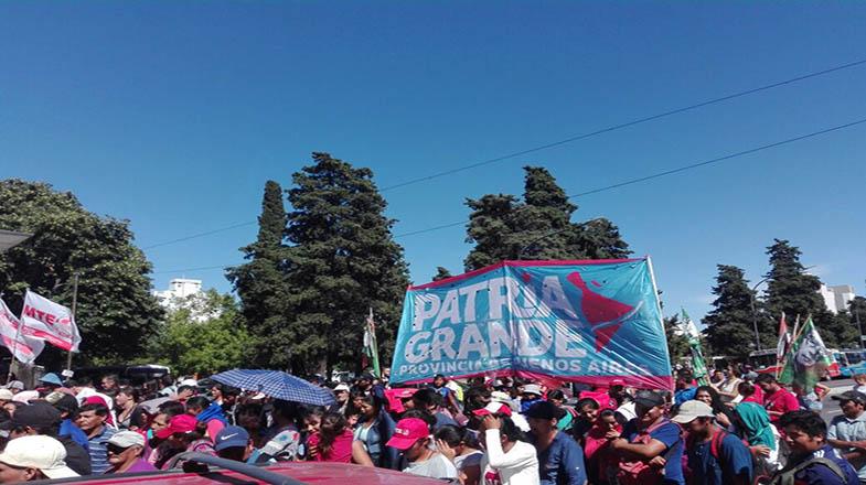 Los provincianos también se unieron al llamado de los sindicatos de trabajadores