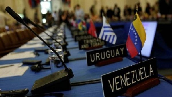 """Yankee imperialism is using all means to prevent a way out of the difficult political, economic and social situation facing Venezuela,"" said the PCU."