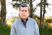 Pedro Beltran speaks during his twitter video saying that the ELN