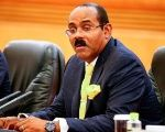 The Prime Minister of Antigua and Barbuda, Gaston Browne.
