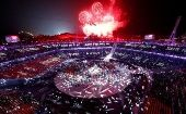 Scenes From Pyeongchang Winter Games Closing Ceremony