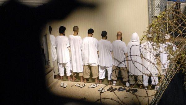 Guantanamo Bay prisoner sin 2007.